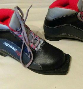 Ботинки для лыж 37 размер на 3 дырки крепление