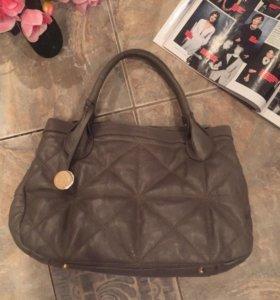 Кожаная стильная сумка Furla (оригинал)