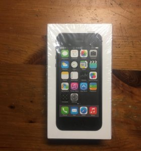 Коробка IPhone 5s space gray 16gb