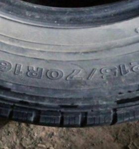 Dunlop 215/70R16 ц.за к-кт.