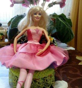 Софа для куколки со спинкой