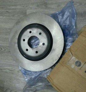 Диски передние тормозные Nissan Navara, Pathfinder