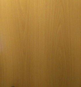 Дверь 200×70см.5мм. новая глухое полотно и коробка