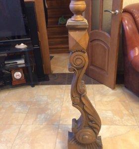 Деревянная балясина