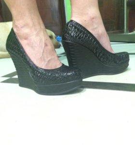 Туфли натуральная кожа,