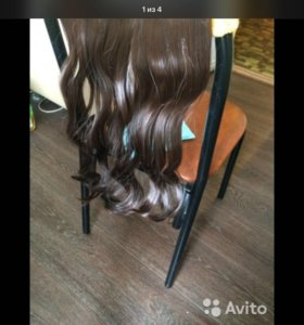 Волосы на заколках синтетика