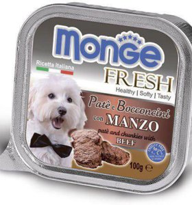 Консервы беззерновые Monge для собак