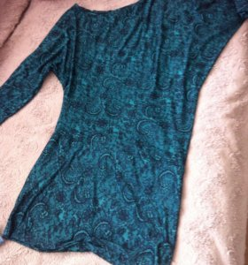 Платье туника на одно плечо