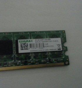 ОЗУ 1GB DDR2