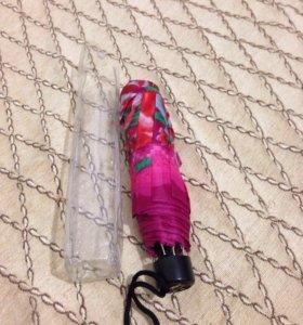Новый женский механический зонт