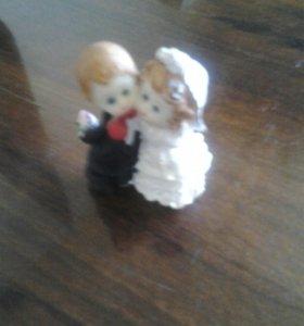 фигурка свадебная