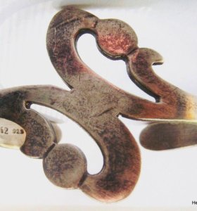 Браслет Мексика антиквариат Серебро 925 25 грамм
