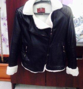 Куртка женская кожзам 46-48