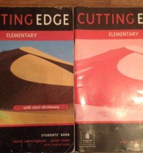Учебник по английскому Cutting Edge Elementary