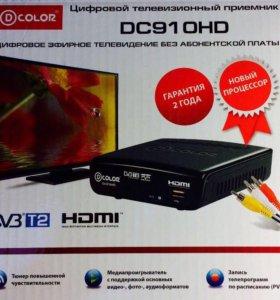 Новая цифровая приставка D-Color DC910HD