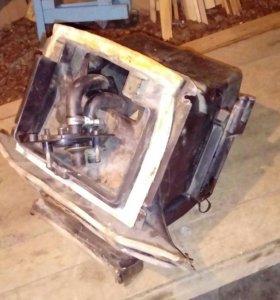 Печка, радиатор, клапан 21099(высокая)
