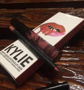 Набор помада Kylie жидкая матовая + карандаш