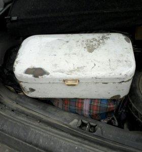 Коробка металлическая ссср