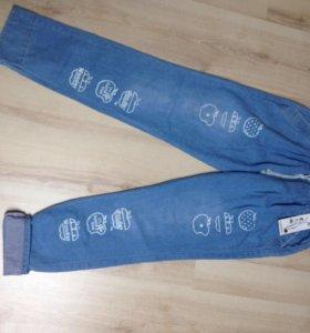 Х/б брюки джинсы