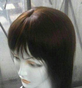 Новый парик с бирками . Натуральный