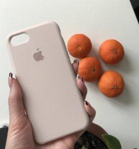 Оригинальный матовый чехол на IPhone 7