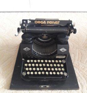 Печатная машинка orga private modell7