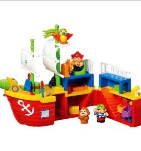 🚢 Пиратский корабль