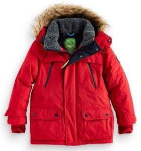 Теплая куртка-парка Next на мальчика, р.8 лет