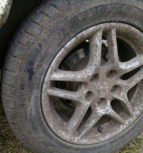 Литье с резиной 225,55r16 Dunlop