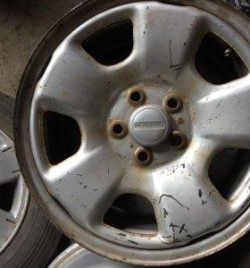 3 диска R15 Subaru