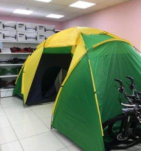 Палатка четырёх местная