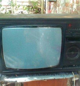 Продам цветной рабочий телевизор садко