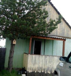 Дом из жилых вагончиков
