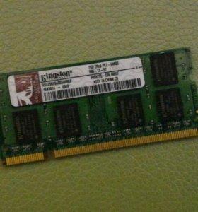 Оперативка для для ноутбука Kingstone DDR2 800 2гб