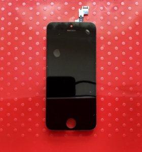 Дисплей модуль iPhone 5s Чёрный
