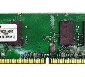 Оперативная память KINGSTON DDR2 800 МГЦ 2гб