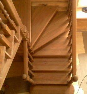 Шикарные Лестницы из дерева