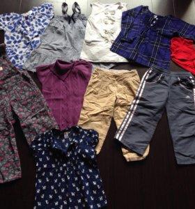 Одежда на девочку пакетом 98р.