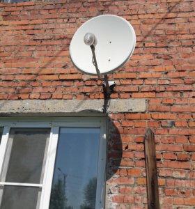 Спутниковая тарелка трикалор