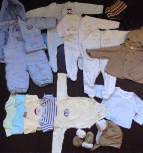 Одежда на мальчика пакетом 68размер