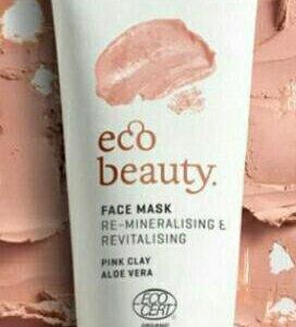 Маска для лица из натуральной розовой глины
