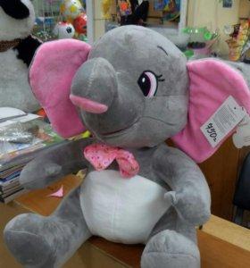 Мягкая игрушка Слон с озвучкой