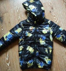 Куртка осенняя р 130