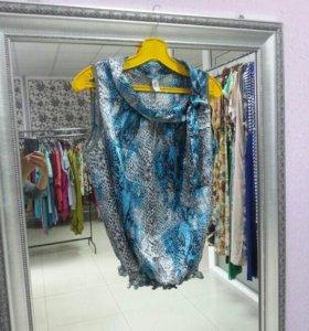 Блузка Дама атлас