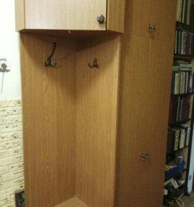 2 шкафа (угловой+платяной)