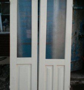 Двойные двери