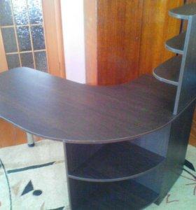 Стол для офиса (дуб венге),цена 5000р.