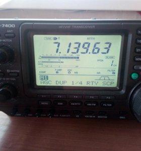 ICOM IC-7400 - обмен