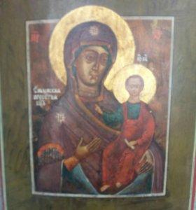Икона 19 в. Смоленская Богоматерь