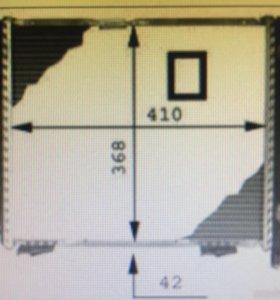 Радиатор двигателя mb w124/w201 M102